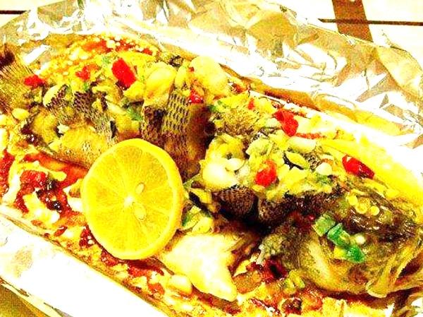 鲜椒柠檬鱼